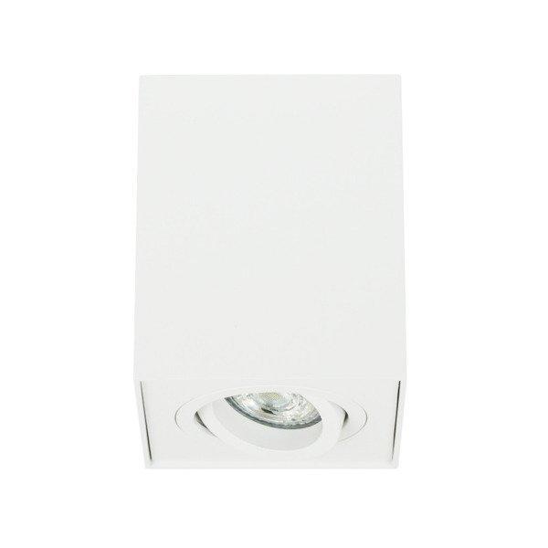 Oprawa sufitowa spot kostka natynkowa CROSTI CORTO SQ biały szer. 10cm
