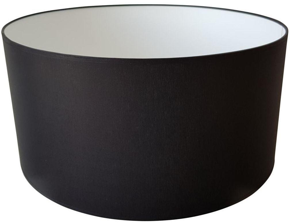 Abażur 9980 walec 50 x 25 cm tkanina czarny E27 TK LIGHTING