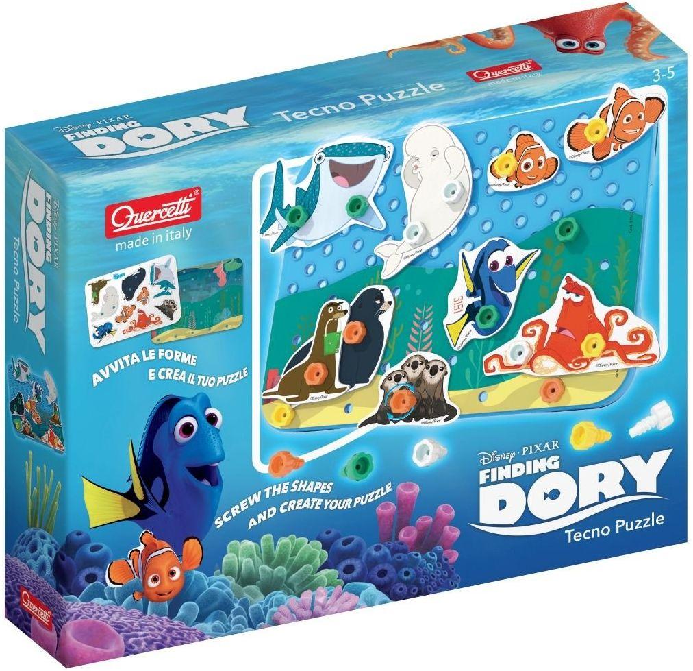 Quercetti 0559 Tecno Puzzle Finding Dory Konstruktionen