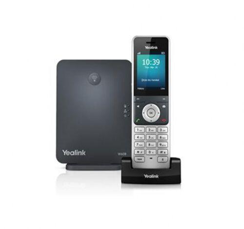 W60P BEZPRZEWODOWY TELEFON IP/DECT, 8 x SIP - YEALINK