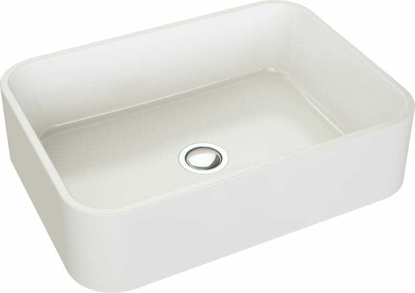 Umywalka nablatowa CRES 50 Biały