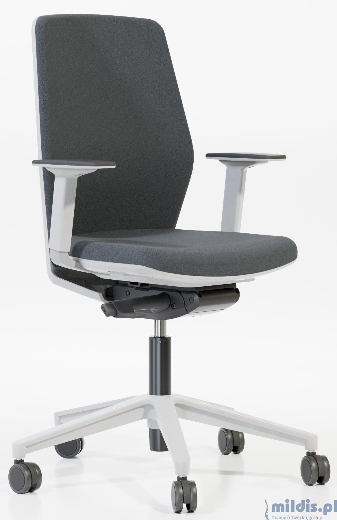 Białe krzesło do biurka Start