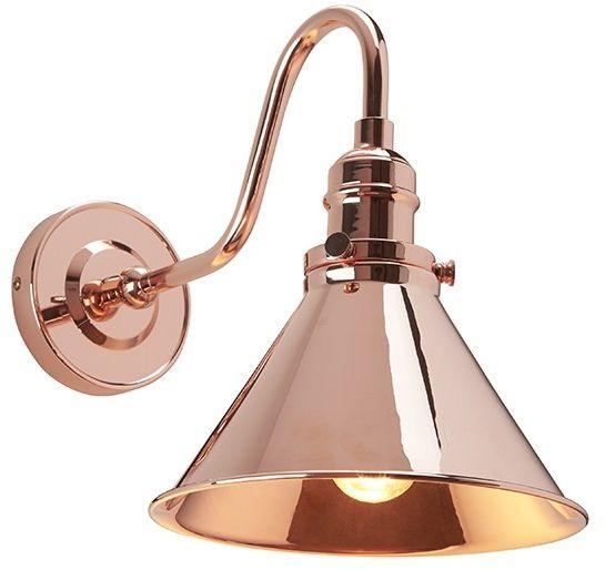 Provence Polished Copper - Elstead Lighting - kinkiet nowoczesny