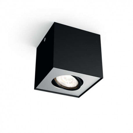 myLiving Oświetlenie punktowe BOX, czarny, LED 5049130P0 50491/30/P0 PHILIPS