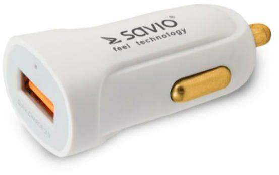Savio Quick Charge 3.0A SA-05/W