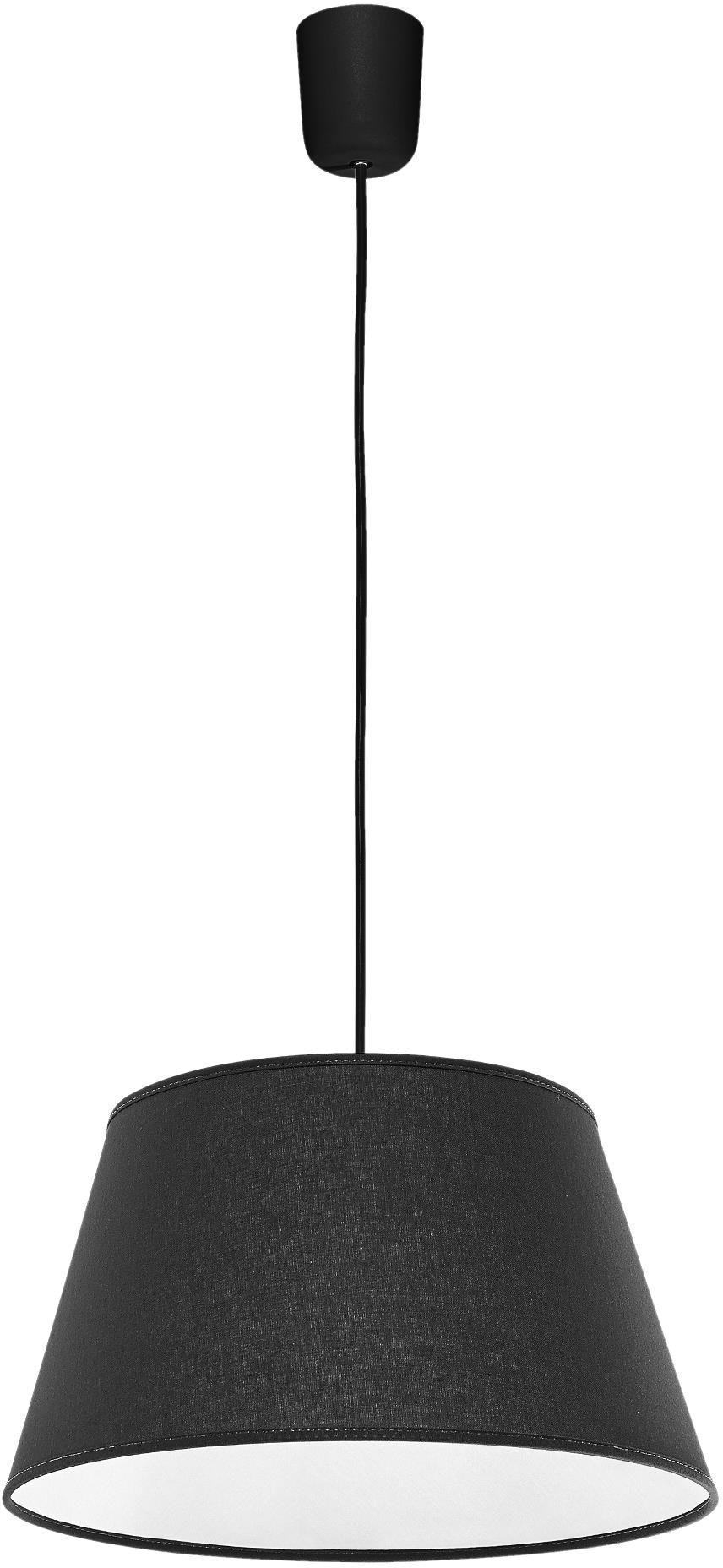 Lampex Kegle 410/GRA Lampa wisząca nowoczesna z trapezowatym abażurem 1x60W E27 35cm