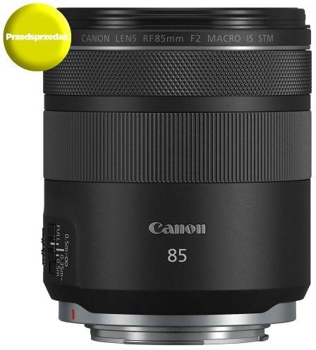Obiektyw Canon RF 85mm F2 Macro IS STM - RATY 10x0% - złap okazję i wyczaruj cenę