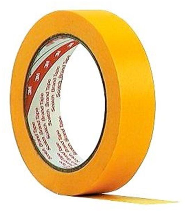 3M 244 Taśma maskująca żółty, 18 mm x 50 m