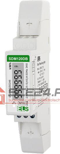 LICZNIK 1 FAZOWY SDM120DB MID z podświetlanym wyświetlaczem