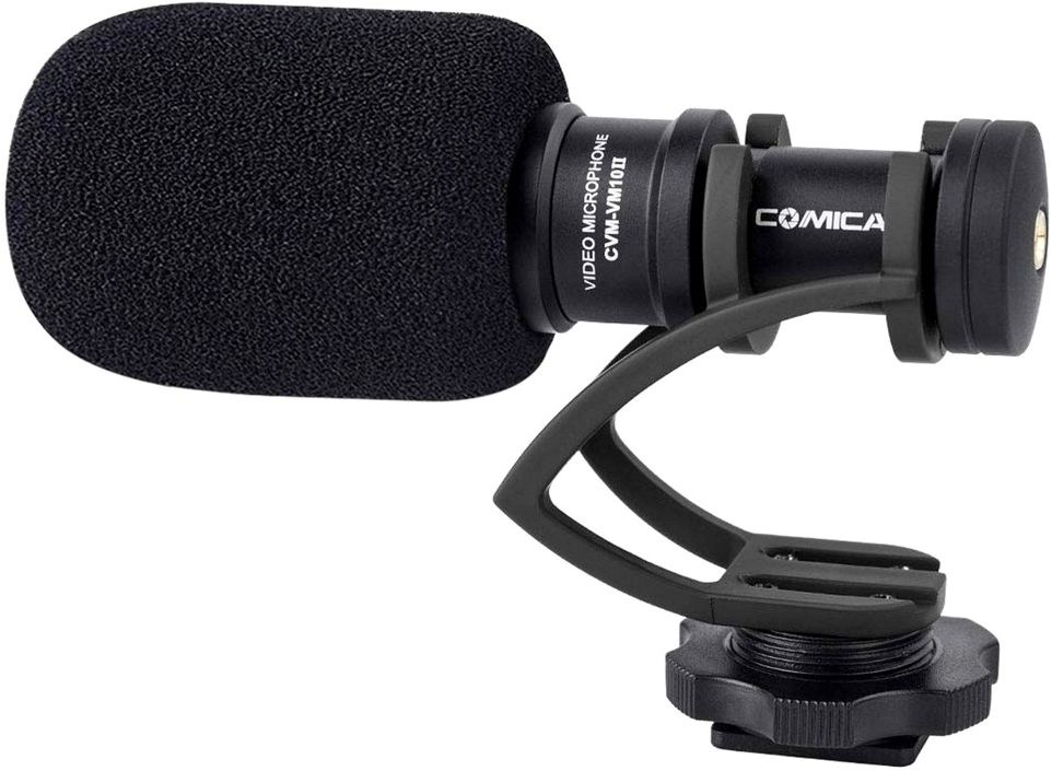 Mikrofon kardioidalny typu shotgun Comica CVM-VM10II B