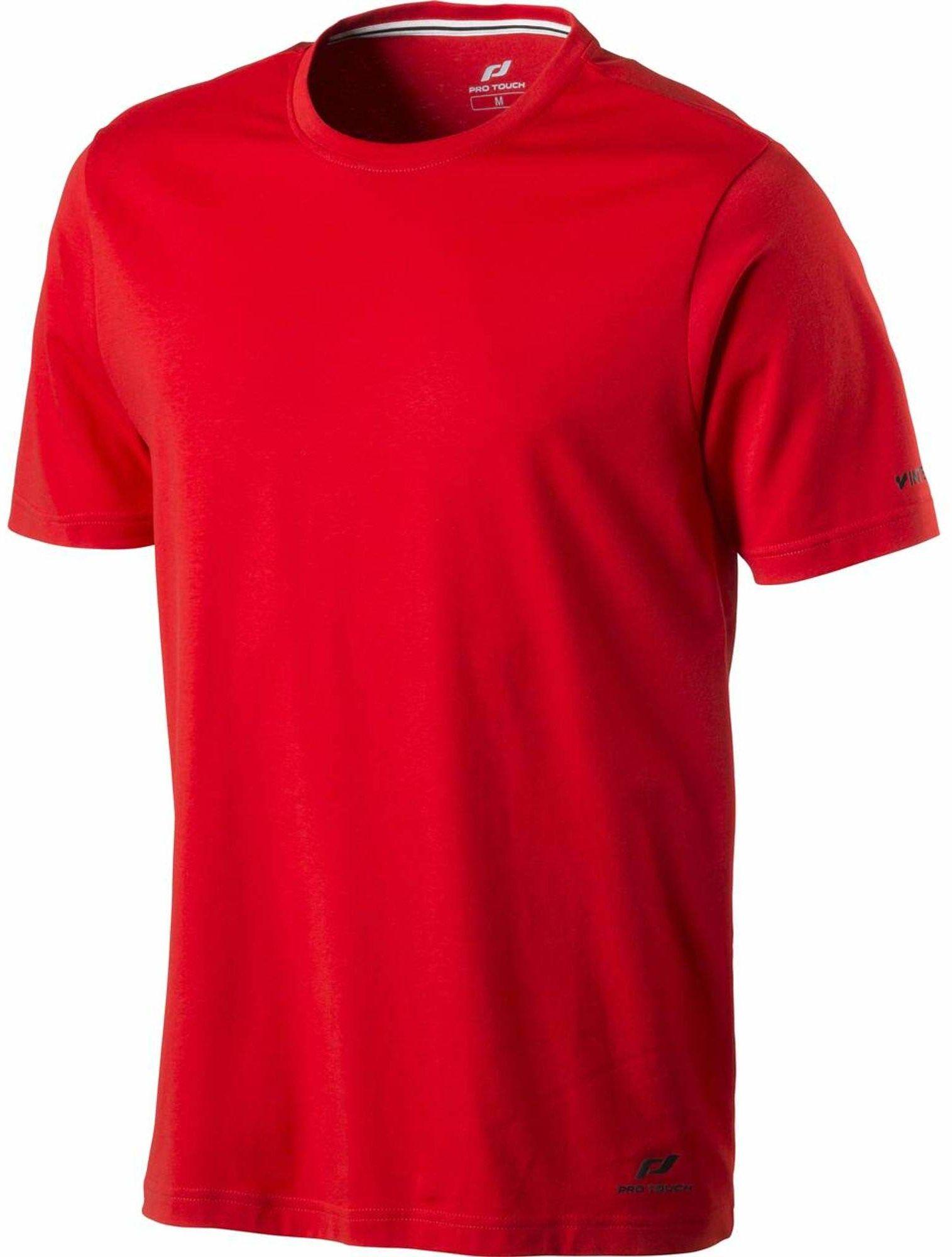 Pro Touch Męski T-shirt Promo czerwony czerwony X-L