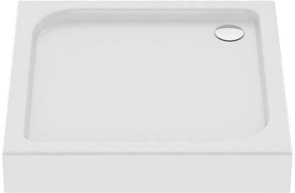 New Trendy Brodzik kwadratowy DOMIO 80 x 80 x 16cm B-0347