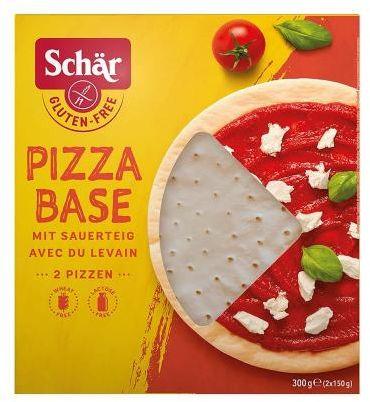Spody do pizzy bezglutenowe 2 x 150 g Schar