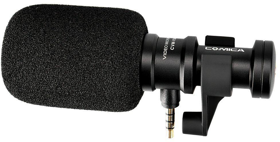 Mikrofon typu shotgun do smartfonów Comica CVM-VS08