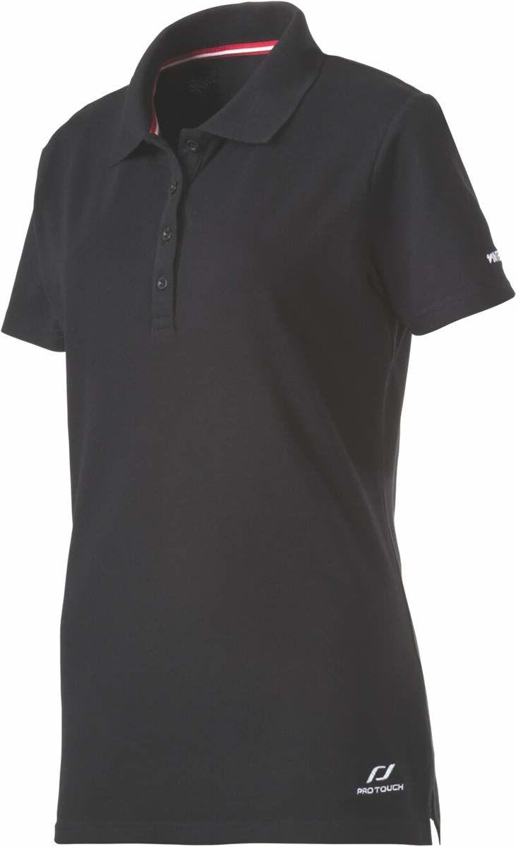 Pro Touch Damska koszulka polo Promo, czarna, 46