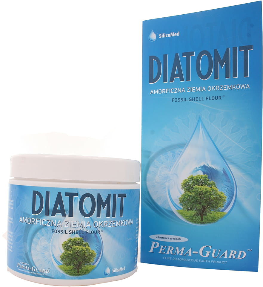 Ziemia okrzemkowa Diatomit - SilicaMed Perma-Guard - 200g