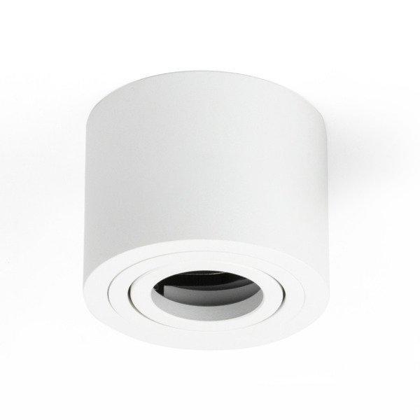 Oprawa sufitowa spot tuba natynkowa CROSTI SASARI RO 90 S biały śr. 9cm - biały Koło S