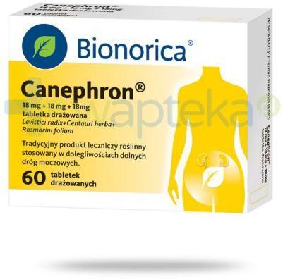 Canephron 18 mg + 18 mg + 18 mg 60 tabletek