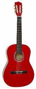 Dimavery AC-303 classical guitar 3/4, red, gitara klasyczna