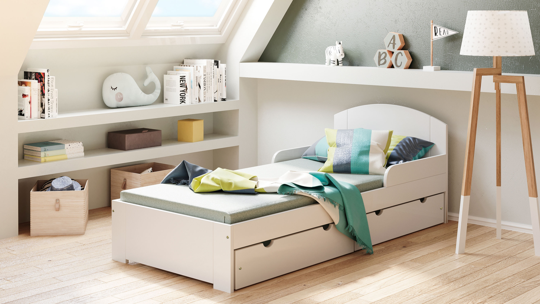 Łóżko dla dzieci pojedyncze Billy S