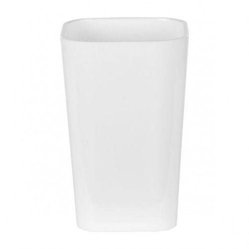 Kubek do łazienki tworzywo biały