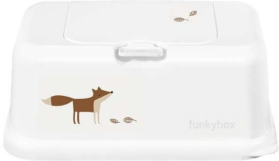 Funkybox - Funkybox - Pojemnik na Chusteczki, White Funky Fox