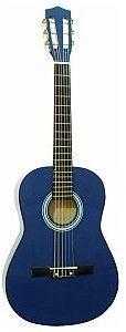 Dimavery AC-303 classical guitar 3/4, blue, gitara klasyczna