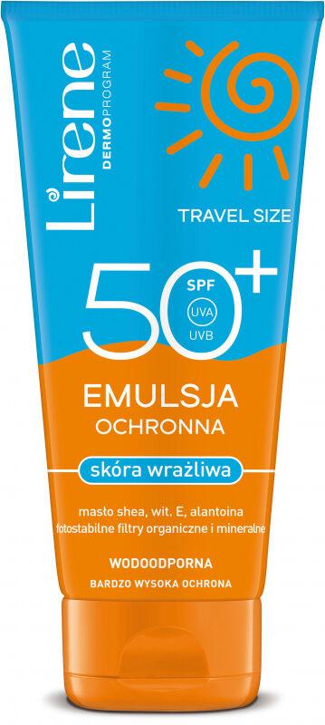 Lirene - EMULSJA OCHRONNA do skóry wrażliwej - SPF50+ - 90 ml