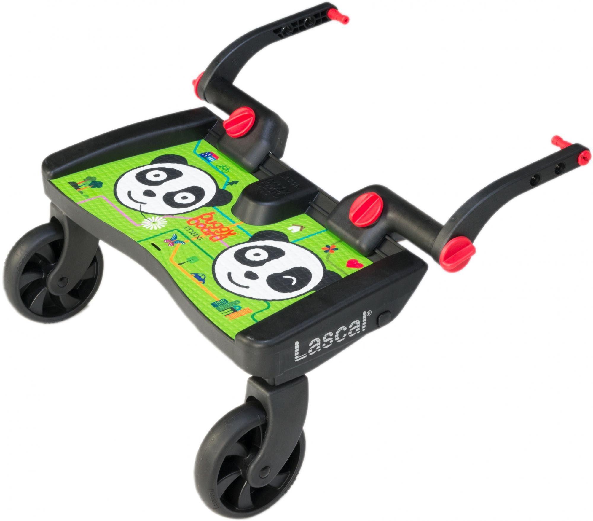 Lascal Buggy Board Maxi dostawka do wózka panda city green