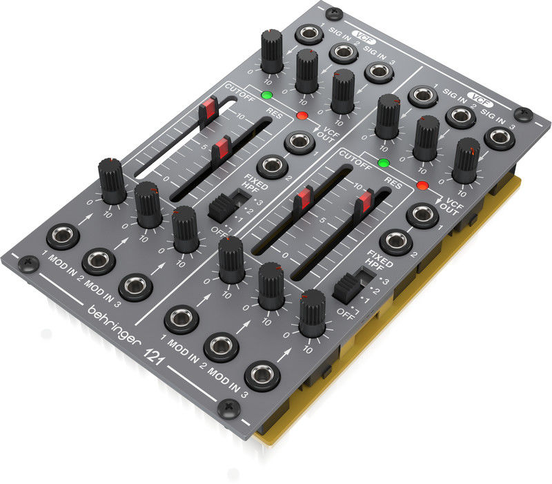 Behringer 121 DUAL VCF - moduł syntezatatora modularnego I Expresowa wysyłka I 30 dni na zwrot