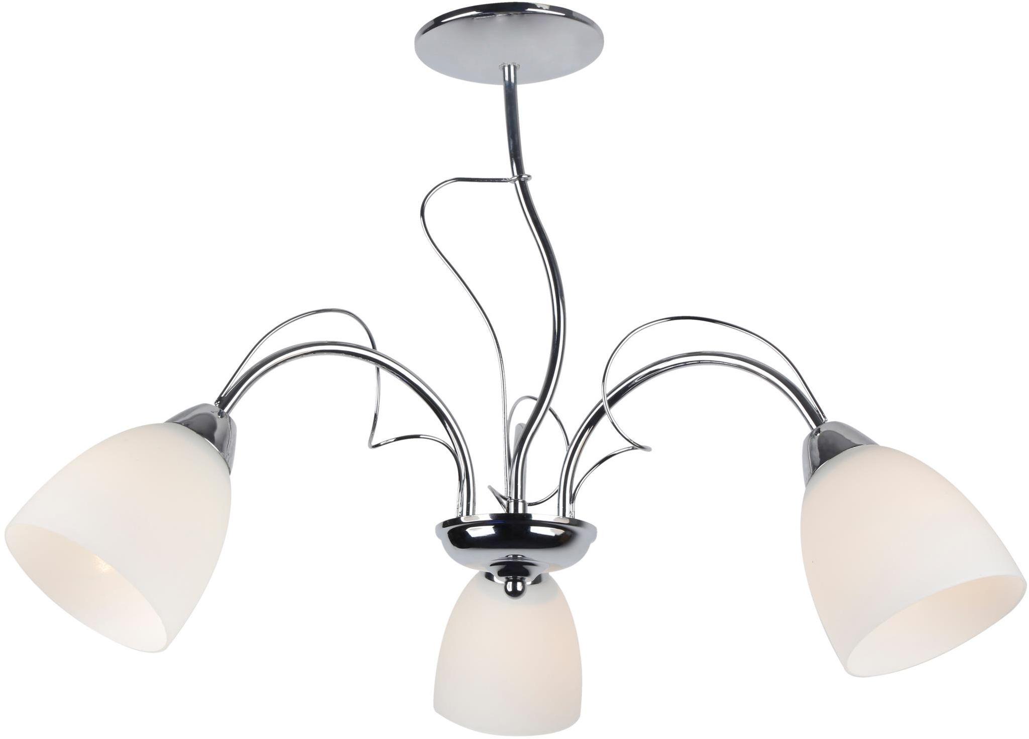 Lampex Lima 3 450/3 lampa wisząca klasyczna szklane klosze 3x40W E14 54cm