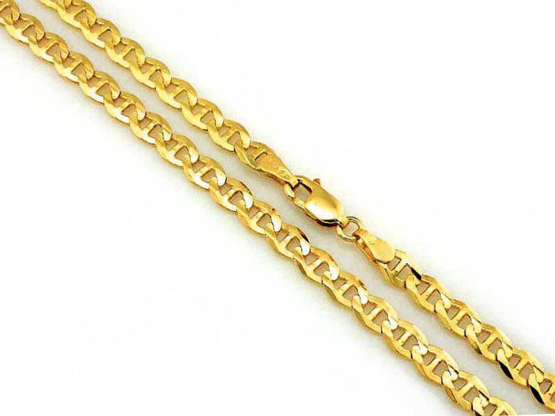 Złoty łańcuszek 585 gucci 44cm marina 2,63g