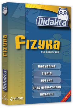 Didakta - Multilicencja nieograniczona czasowo - Fizyka 1 - Obliczenia wielkości fizycznych - wersja CD