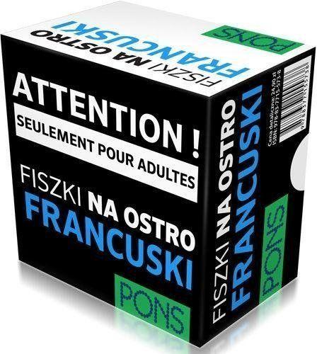 Fiszki na ostro. Francuski PONS - praca zbiorowa