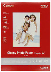 "Papier Canon Glossy Photo ""Everyday Use"" (GP-501) A4/5 arkuszy"