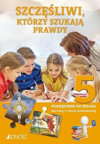 Religia Szczęśliwi, którzy szukają prawdy podręcznik dla klasy 5 szkoły podstawowej AZ-21-01/20-KI-2/20 ZAKŁADKA DO KSIĄŻEK GRATIS DO KAŻDEGO...