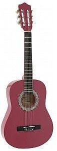 Dimavery AC-303 classical guitar 1/2, pink, gitara klasyczna
