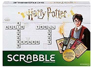 Mattel Games Gra rodzinna Scrabble Harry Potter Edition