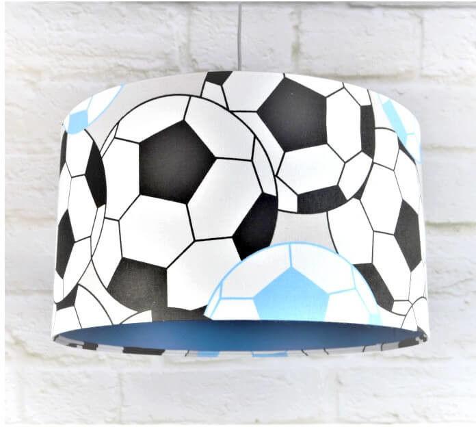 Lampa wisząca Piłki 3D niebieska/czerwona