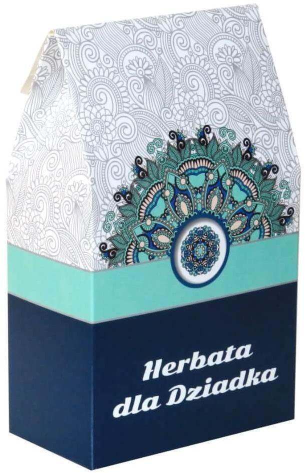 Herbata dla Dziadka  prezent podarunek dla dziadka z wyjątkowymi herbatami (9x5g+8g)