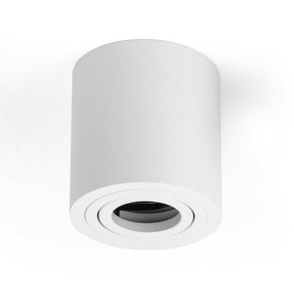 Oprawa sufitowa spot tuba natynkowa CROSTI SASARI RO 120 S biały śr. 9cm - biały Koło S