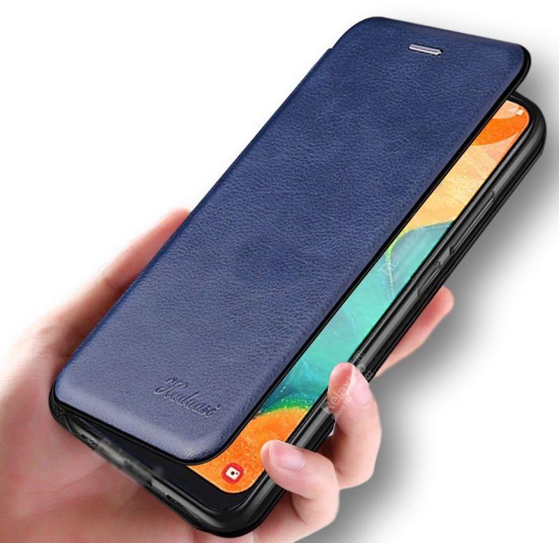 Etui Leather Flip do Samsung Galaxy A50