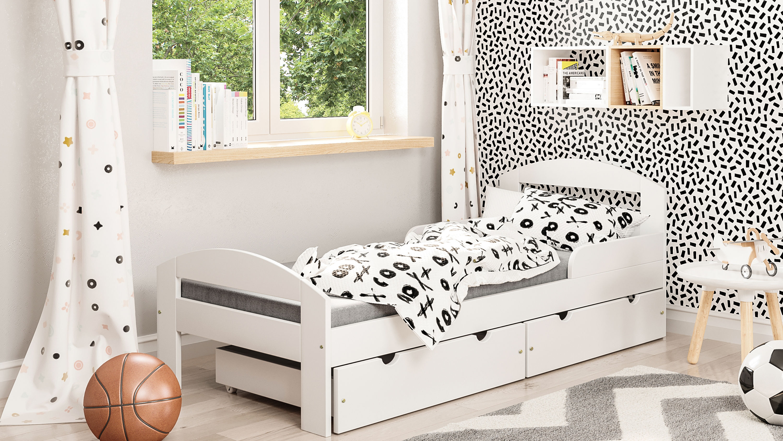 Łóżko dla dzieci pojedyncze Timon