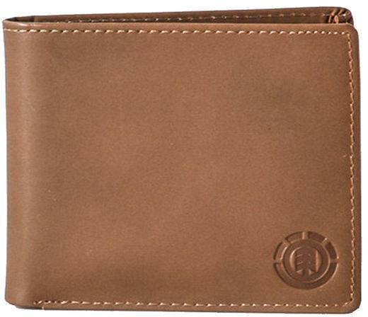 Element AVENUE brown mężczyzna luksusowy portfel