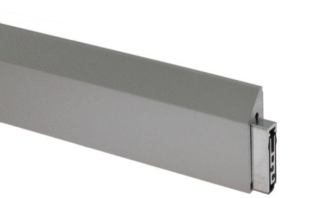 Listwa opadająca PLANET do drzwi szklanych KG-SM,L-1084 mm