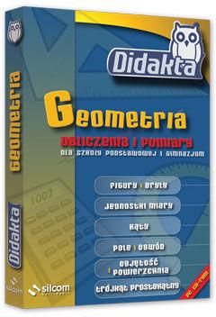 Didakta - Multilicencja nieograniczona czasowo - Geometria 2 - Obliczenia i pomiary