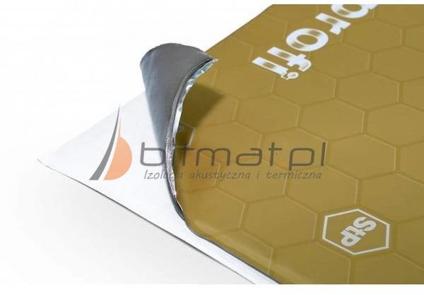 StP Profi Premium Szary butyl mata wygłuszająca 1,5mm 2,5mm 3,5mm
