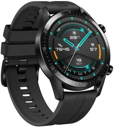 Huawei WATCH GT 2 46mm (czarny) - Raty 10x0% - szybka wysyłka!