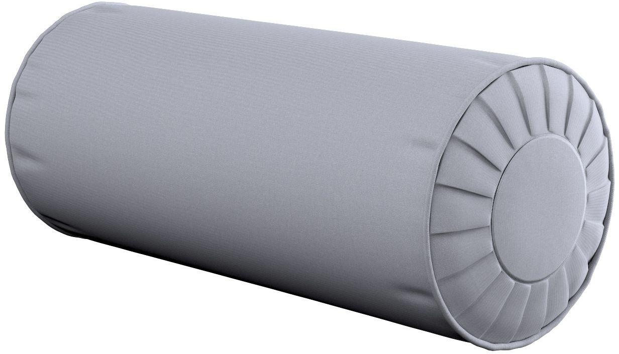 Poduszka wałek z zakładkami, szary, Ø20  50 cm, Jupiter