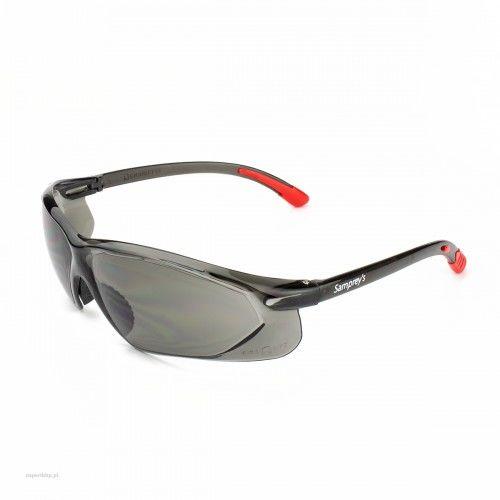 Okulary ochronne SAMPREYS SA 520G szybki przyciemniane